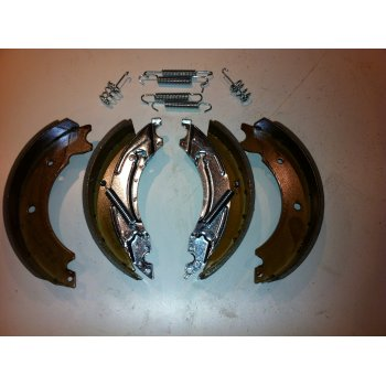 knott type brake shoe kit 200x50mm